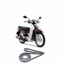 Nhông xích nhông sên dĩa xe máy Honda Super Dream