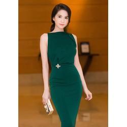 Đầm ôm body kiểu đơn giản tôn dáng