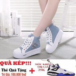 Giày nữ tăng chiêu cao Hàn Quốc - TT009X
