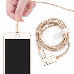 Cáp sạc Lightning iphone 5 dây dù