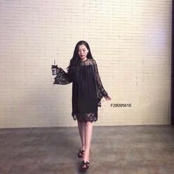 Đầm suông ren tay dài hàng nhập - MS: S280956 Giá sỉ: 165K