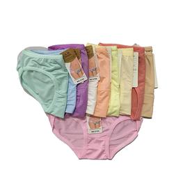 Combo 10 quần lót thun trơn nữ