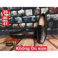 Giày Da Bò - Chỉ còn Size 39,40,41 - xưởng giày Hoàng Diệu