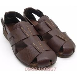 Giày Nam | Giày Sandal Nam da bít mũi