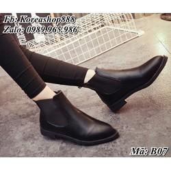 Giày Bốt Chelsea Nữ Mã B07 form nhỏ 1 size
