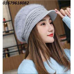 nón mũ nữ len lông It's cold Hàn quốc mới nhất HNNL108