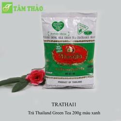 Trà Thailand Green Tea 200g màu xanh
