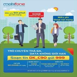 Sim 4G C90 miễn phí nghe gọi, lướt web thả ga