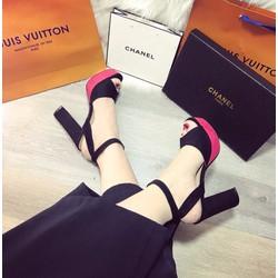 giày cao gót nữ hở mũi cực đẹp