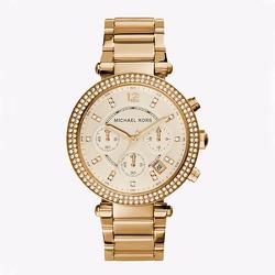 Đồng hồ nữ Michael Kors Parker Chronograph Gold