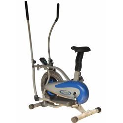 Bộ Xe đạp tập thể dục New Obitrack +Máy massage xung điện 8 miếng dán