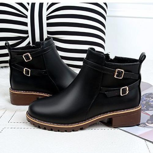 Giày Boot nữ thời trang B090D