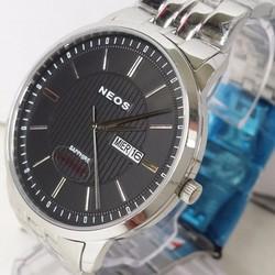Đồng hồ nam dây vỏ inox kính sapphire máy Nhật cao cấp NEOS AS081