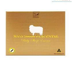 Nhau thai cừu Maxi 50000 Placental Baby Sheep Essence 100 viên