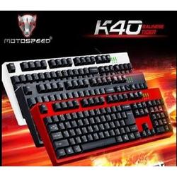 Bàn phím game thủ Motospeed K40 Gaming Keyboard màu đỏ đen