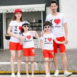Áo thun gia đình siêu rẻ đẹp 85k 1 áo