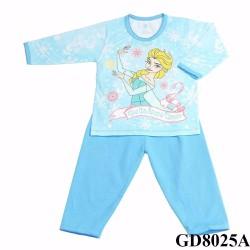 Quần áo trẻ em - đồ bộ bé gái dài tay elsa
