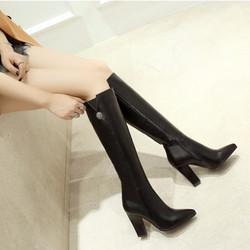 Giày Boot nữ cổ cao thời trang B091