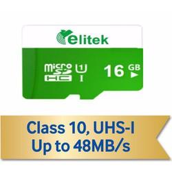Thẻ Nhớ Elitek Micro SD 16GB Class 10-48MB.S