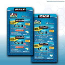 Kẹo sing gum cai thuốc Kirkland Signature Quit 2™ Gum