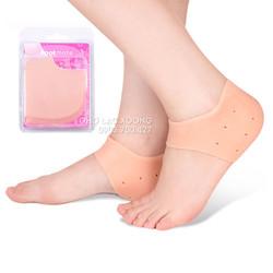 Set 2 vớ bọc gót chân chống đau silicon CM3027