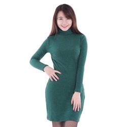 GIẢM SỐC 3 NGÀY VÀNG - Đầm len body cổ lọ
