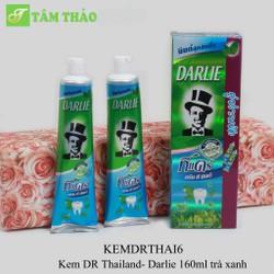 Kem DR Thailand- Darlie 160ml trà xanh