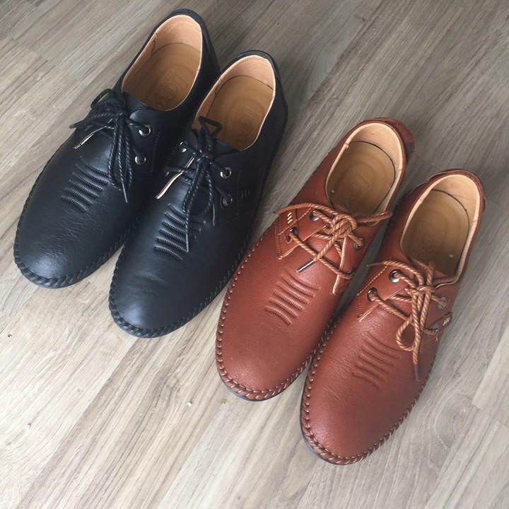 Giày Da Bò Siêu Mềm SG066 1