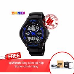 Đồng hồ nam thể thao 0931 tặng kèm bộ hộp Skmei chính hãng- tpWatch