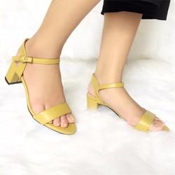 Giày Sandal Cao Gót Li061V JANVID - sang trọng, đẳng cấp