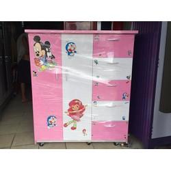 Tủ nhựa trẻ em màu hồng 0928819310