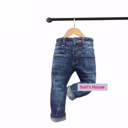 Quần jean dài cá tính cho bé