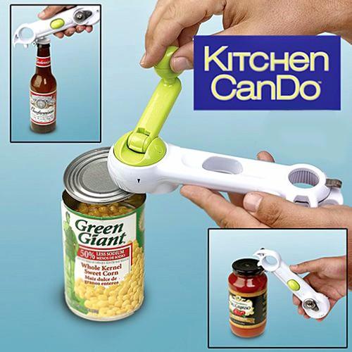 Dụng cụ mở nắp hộp đa năng 6 trong 1 Kitchen CanDo