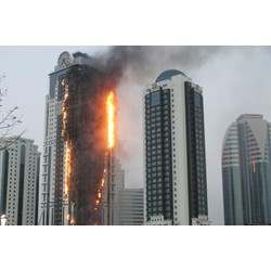 Dây thoát hiểm Doosung căn hộ chung cư  cao tầng