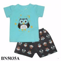 quần áo trẻ em - đồ bộ đùi bé trai