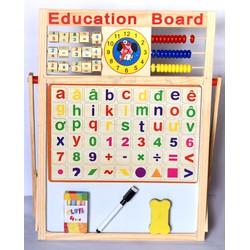 BẢNG TÍNH ĐA NĂNG 2 MẶT kèm bộ chữ cái và số cho bé