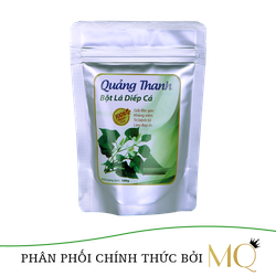 Bột diếp cá sấy lạnh Quảng Thanh 100gam - Hỗ trợ điều trị bệnh trĩ