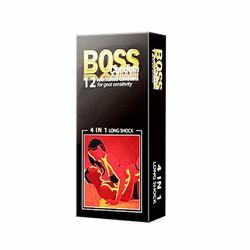 Bộ 2 hộp Bao cao su Boss 4 in 1 hop 12 cái
