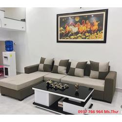 Bộ sofa góc sang trọng tôn vinh vẻ đẹp cho căn phòng