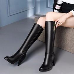 Giày boot cổ cao sang trọng B092