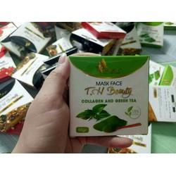 mask trà xanh collagen