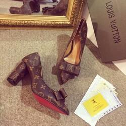 giày đế vuông vl nữ hàng f1 cực đẹp