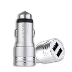 Sạc Xe Hơi CAR CHARGER WITH HAMMER C001 2.4A MAX