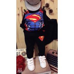 Bộ quần áo siêu anh hùng kèm áo choàng