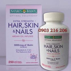 Viên uống chống rụng tóc làm đẹp da Hair Skin and Nails Biotin