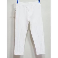 Quần legging sọc màu trắng cho bé trai và gái