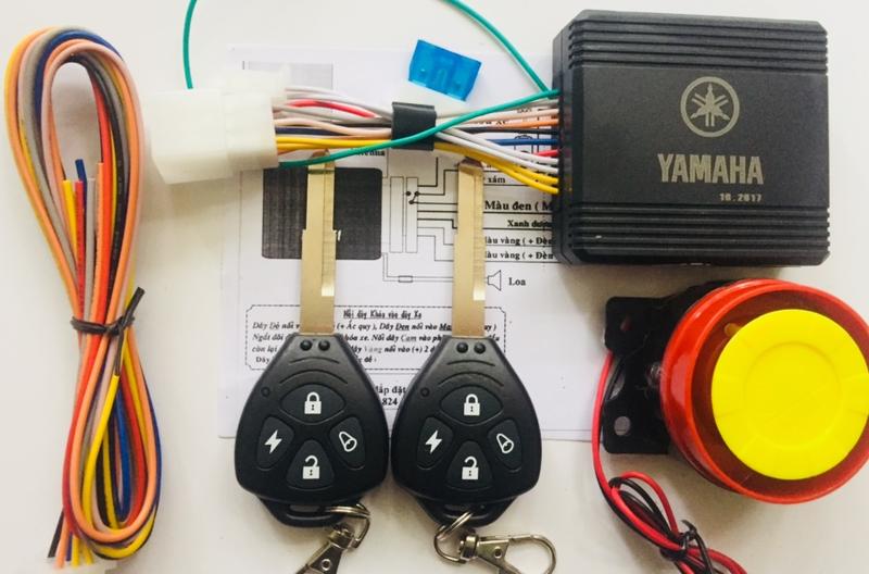 Chống trộm xe máy liền chìa Yamaha 3