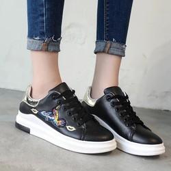 giày bata nữ thêu cao câp-pll3502