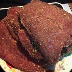 Thịt bò một nắng Gia Lai