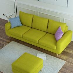 sofa băng thư giãn, tôn vinh vẻ đẹp cho tổ ấm gia đình bạn